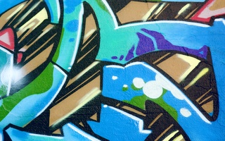 Graffiti-Blue