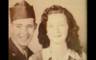 Silhouette's parents, circa 1942